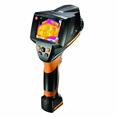 Testo 0560 8753 Pistol Grip Thermal Imager Kit with Integrated Digital Camera, 160 x 120 pixels Resolution