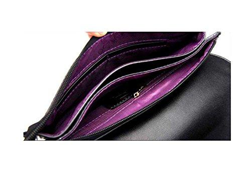 Mode Sac Dames Sac Enveloppe purple Banquet Tempérament Main De Sac à Nouveau D'embrayage xB0wTx