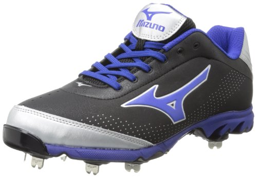 Mizuno Men's Vapor Elite 7 Low-M, White/Black 8 M US
