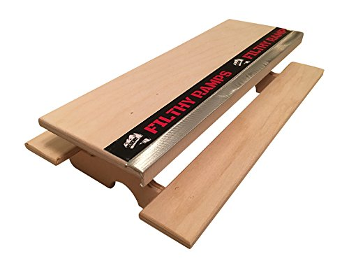 Filthy Picnic Table with Aluminum Ledge for Fingerboarding, for fingerboards and tech decks by Filthy Fingerboard Ramps