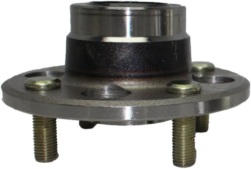 Brand New Rear Wheel Bearing and Hub Assembly - Non-ABS Rear Drum Brakes 4 LUG for 1997-00 Acura EL - [85-91CRX] - 84 Wagovan - [92-00 Civic Rear Drum No Abs] - 85-91 Civic ex.Wagon - [93-97 Del Sol] ()
