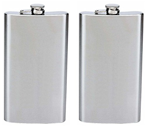 Maxam Stainless Steel Flask Hinged product image