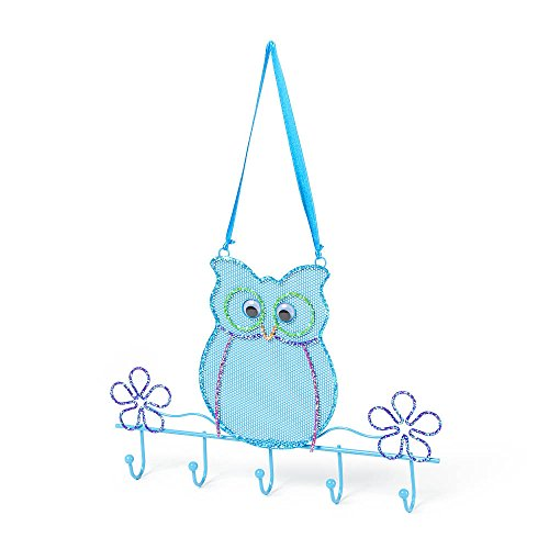 Claire's Accessories Glitter Owl Hanging Jewelry Holder