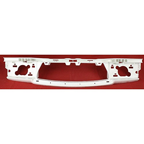 Buick Header - Evan-Fischer EVA20472028617 Header Panel for Buick Lacrosse 08-09 Bumper Support Black CAPA Certified