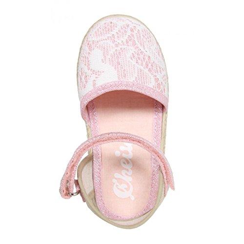 Sandales pour Fille CHEIW 47110 CROCHET ROSA