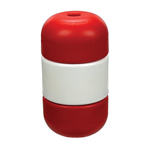 American Granby Handi-Lock Float 5 in. x 9 in. Float for 3/4 in. Rope, Red/White/Red