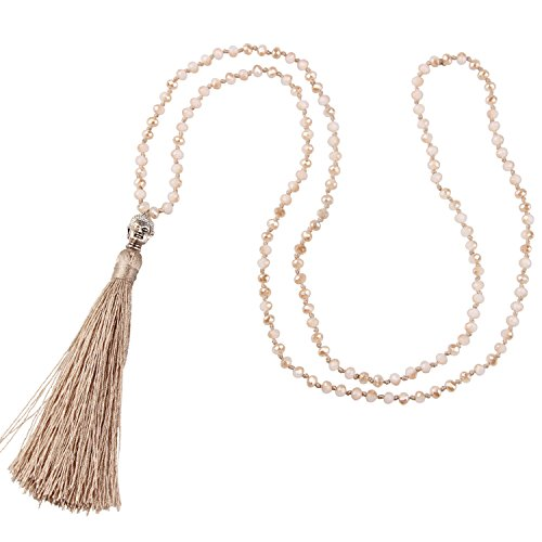 KELITCH Exclusive Crystal Beaded Necklace product image