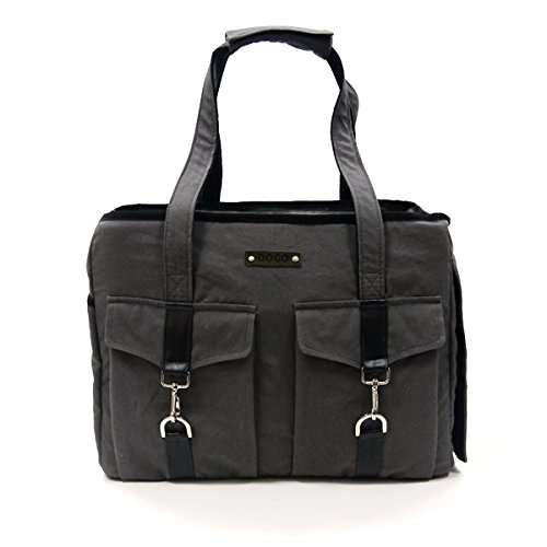 Side Tote Buckle - Dogo Buckle Tote - Charcoal