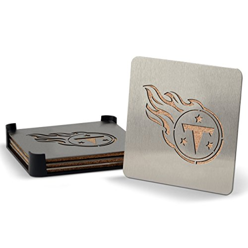 NFL Tennessee Titans 4-piece Boaster Drink Coaster