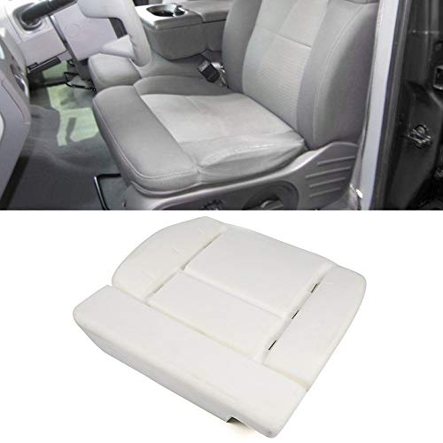Cushion Pad Fits 2004-2008 Ford F150 2006-2008 Lincoln Mark LT | White Factory Style Seat Bottom Cushion Pad Direct Replacement Driver Left Side by IKON MOTORSPORTS