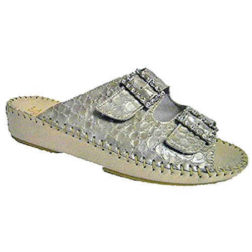 discount footlocker pictures buy cheap best sale La Plume Jen Womens Sandals Ivory Rhinestone YaRU5lyK7