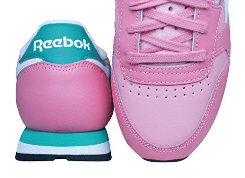 Mode Cl Leather Seasonal Pink Rose Reebok Basket Ii Femme C6pwnxOOqH
