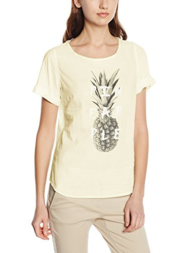 7009 Gelb Camicia transparent Arqueonautas Bluse Donna Yellow YqzSxB7nw