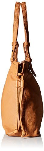 Bag 1760 Durham Brown Wood Liebeskind Berlin Women's Shoulder Cognac q4Ox8HX