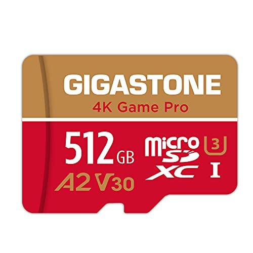 Gigastone Tarjeta Micro SD de 256 GB, 4K Game Pro para GoPro