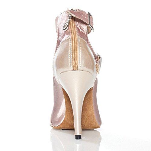 femme Salle bal beige de Miyoopark heel 35 Nude 10cm wpTOqtBCt