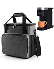 BAGLHER 丨Portable Storage Bag, Suitable for Keurig K-Slim Coffee Machines and Other Accessories, Waterproof Travel Carrying Case, Dustproof Tote Bag with Shoulder Strap.