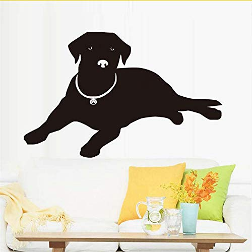 wuyyii Lying Labrador Wall Sticker for Kids Room