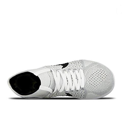 Nike Wmns Lunarepic Flyknit - Zapatillas de running Mujer Blanco (White / Black-Wolf Grey-Pr Pltnm)