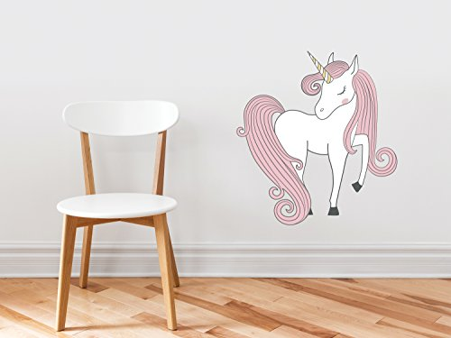 Unicorn Fabric Wall Decal - Hand Drawn Unicorn Magic Peel an