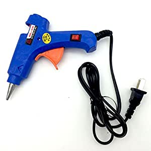 Vastar Hot Glue Gun with 30 Pieces Melt Glue Sticks Melting Adhesive Glue Gun Kit for DIY Small Craft and Quick Repairs in Home & Office, 20 Watt