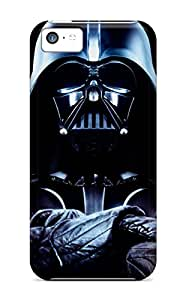 New Cute Funny Darth Vader Case Cover/ Iphone 5c Case Cover