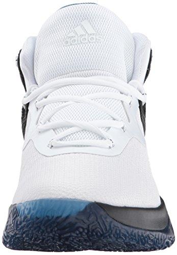 adidas Performance Herren Explosive Bounce Laufschuhe Schwarz / Weiß / Groß Blau