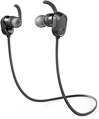 Amazon Com Anker Soundbuds Wireless Headphones Bluetooth Black Water Resist Built In Mic