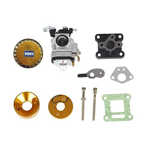 HMParts Pocket Bike Mini Moto 47 /& 49 ccm Auspuff Typ 1 gold