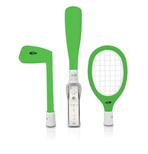 Wii Nerf Sports Pack Plus Green