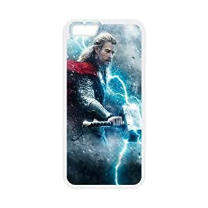 Thor The Dark World Movie iPhone 6 Plus 5.5 Inch Cell Phone Case White PQN6053055319409