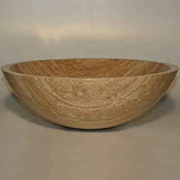 bathroom travertine vessel vanity sink bowl lavatory 20687