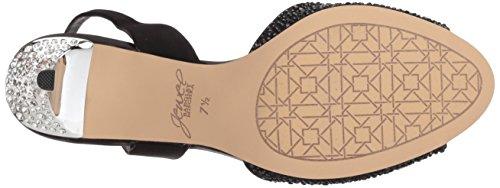 Sandalo Tacco Badgley Nero Tanner Donna Mischka Ufq4ww