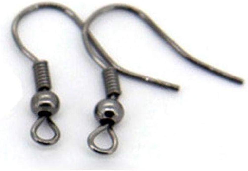 gold Earrings Metal Ear Hook 100pcs with Simple Ear Ear Hook Pearl Jewelry Accessories Material Hand-beaded
