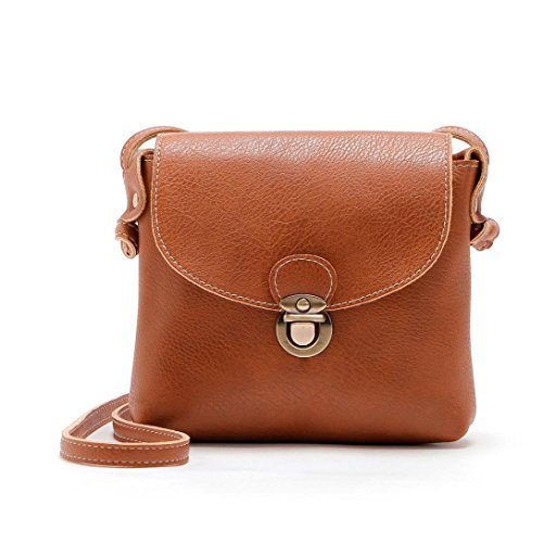 Shoulder Beaded Leather Bag (Women's Cross Body Bags,Lady Leather Purse Satchel Handbag Shoulder Bag Tote by-NEWONESUN)