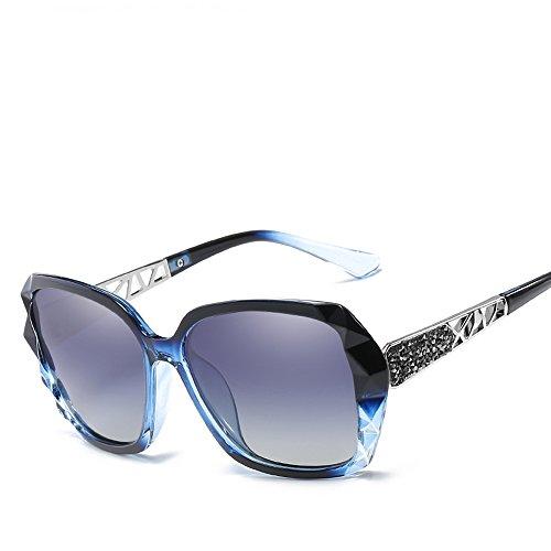 amp;blue Lens de Gray Femme Frame LIDA TECH soleil Lunette pv0wg