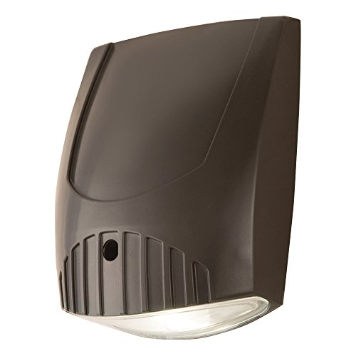 All-Pro WP1850L 100W Metal Halide Equivalent LED Wall Pack Flood Light, 1650 lm (Value Pack Pro)