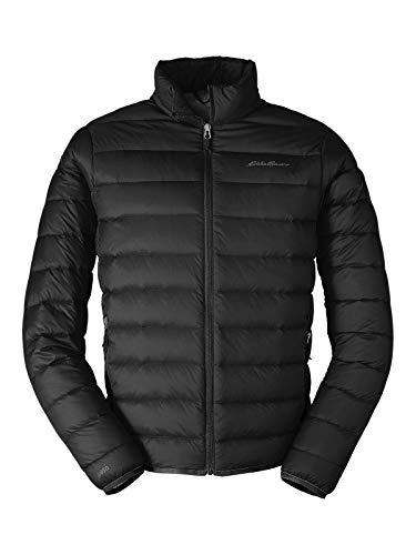 Eddie Bauer Men's CirrusLite Down Jacket, Black Regular S