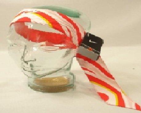 Nike Swoosh fascia per i capelli fascia Parasudore Head Band rosso Rosso  Bianco Unisex Nuovo b6d2a03fd9a2