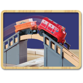Chuggington Wooden Railway Wilson's Lift and Load Figure Set