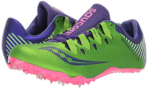 Saucony Showdown 4 Women 6.5 Slime | Purple by Saucony (Image #6)