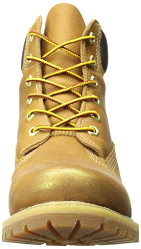 Montantes Premium Boot Femme Chaussures Leather 6