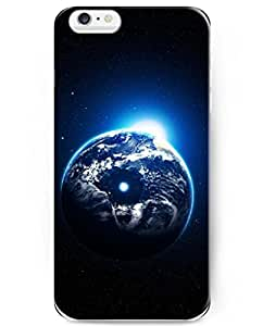 UKASE Brand New Hard Back Case for Apple Phone 6 Plus (5.5inch) with the Fashion Design of Earth In Galaxy