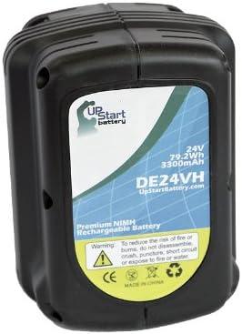 Bateria para DeWalt 24v 3300mah ni-mh para dc224ka dc224kb dw004 dw004k dw004k-2