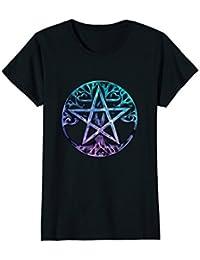 Tree Of Life Pentagram Art Shirt : Cute Wicca Pagan Gift
