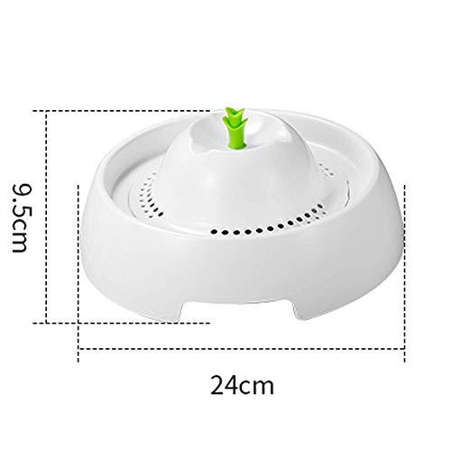 Pet Supplies New Pet Water Dispenser, Pet Fountain Water 3 Water Flow Set Ultra-Quiet Automatic to Provide Sanitary Drinking Water ()