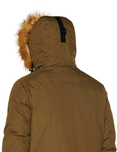 para Redskins Camel Exit Hombre Parka Marrón Quebec Yq0xgqwtrf