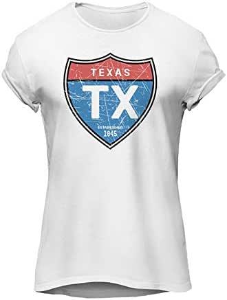 TEXAS-Graphics T-Shirt,Premium Cotton- by ZEZIGN