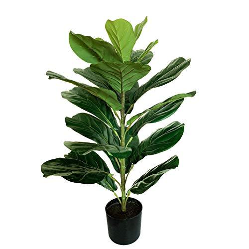 """BESAMENATURE 30"""" Little Artificial Fiddle Leaf Fig"""