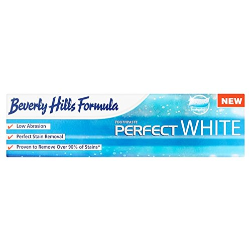 6 PACK - Beverly Hills Formula Perfect White Toothpaste (100ML)